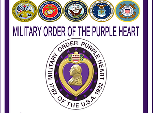 Purple Heart Chapter Sign