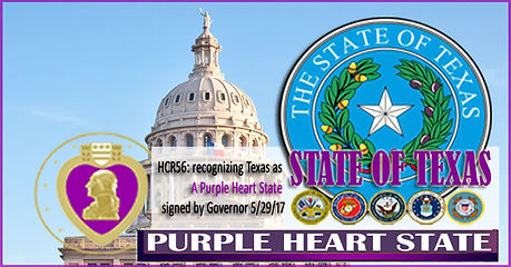 State of Texas _Purple Heart State