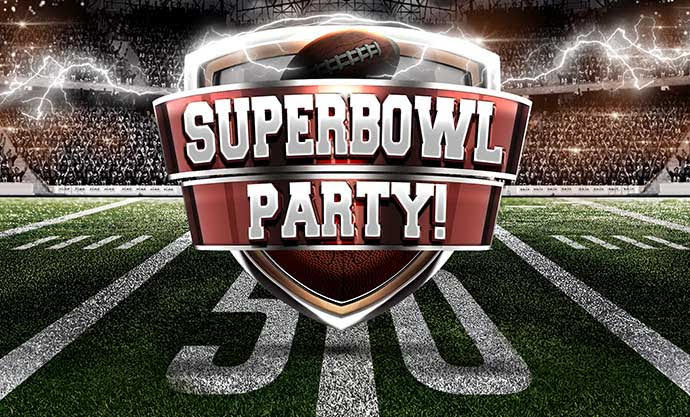 Looking Ahead: Feb 2 at 5pm - Superbowl Party!