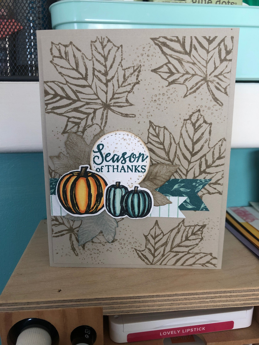 Brooke's Paper & Ink Card Class - Oct 19 at 4 pm