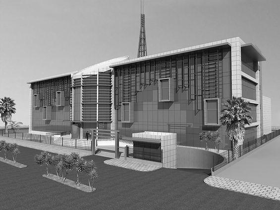 Medya  Center Mimari Proje