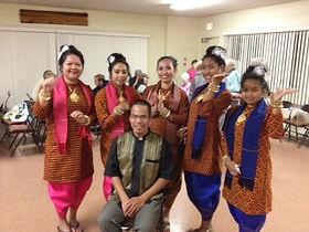 Cambodian Formal Dress at Grace UMC