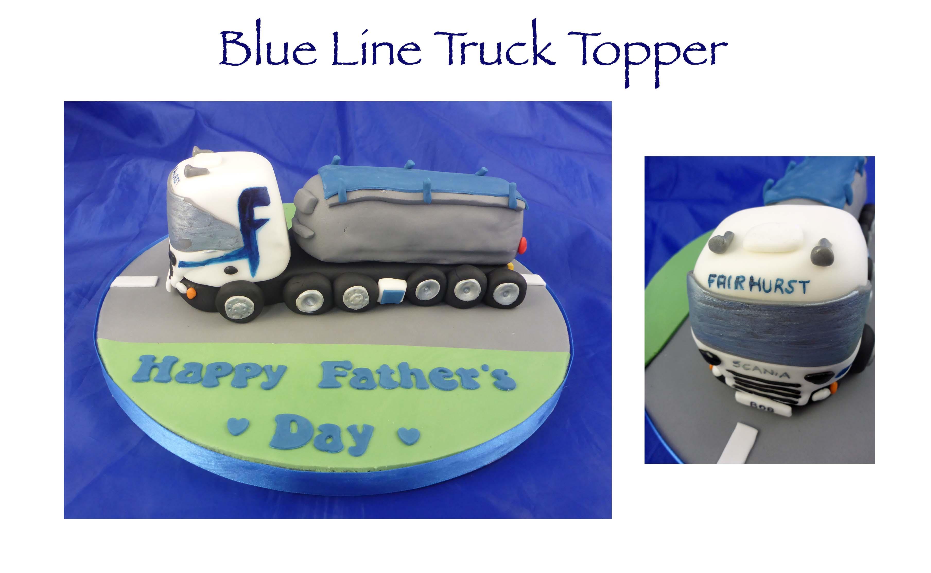 Blue Line Truck Topper 2