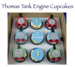 Thomas Tank Engine Cupcakes