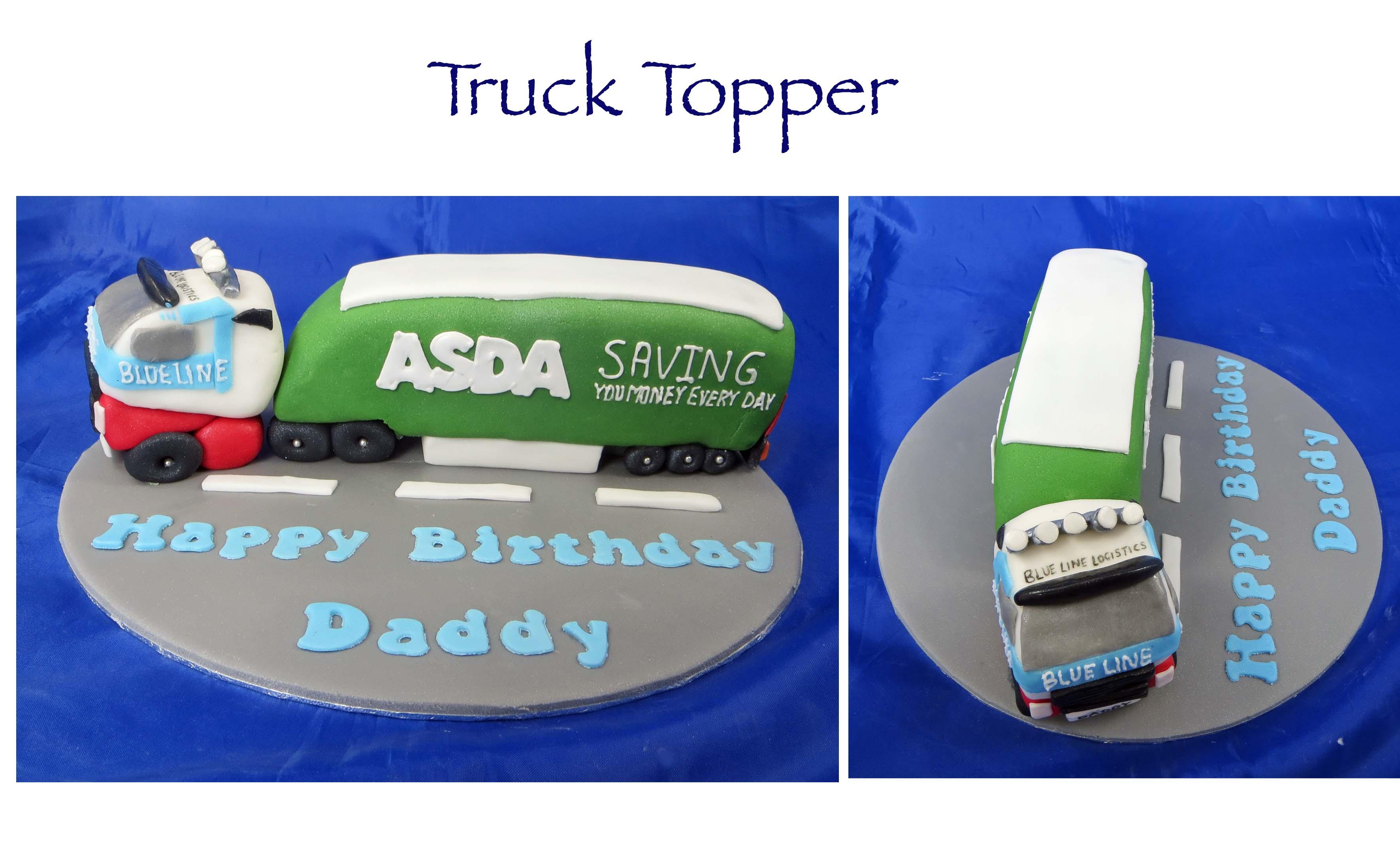 Blue Line Truck Topper