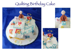 Quilting Birthday Cake