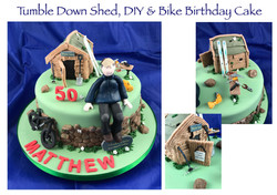 Tumble down shed, DIY and Bike Cake_edit