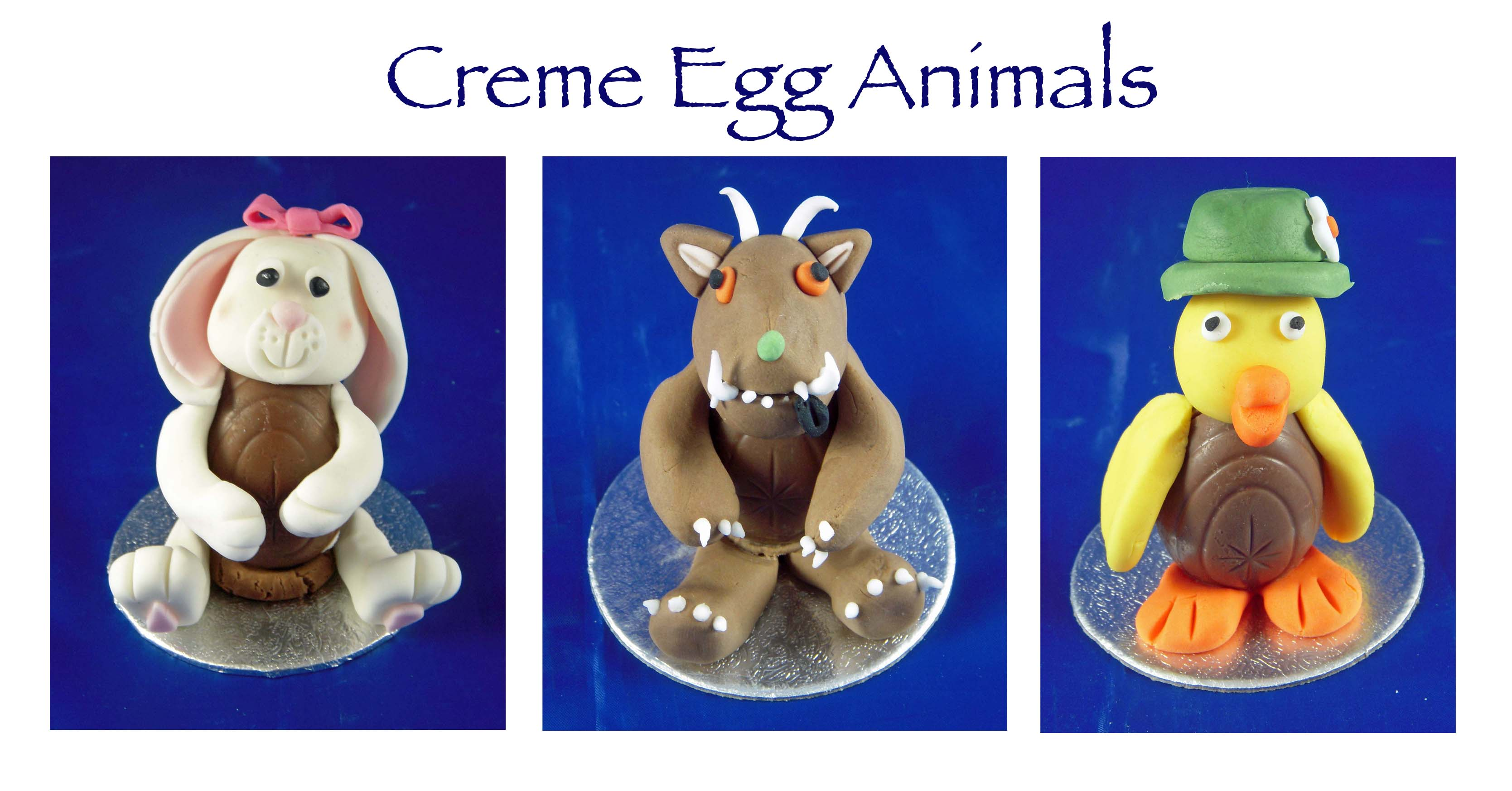 Creme Egg Animals 2
