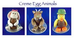 Creme Egg Animals 2
