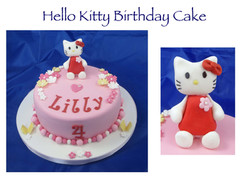 Hello Kitty Cake - 3d model