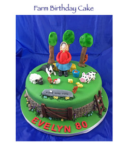 Bleak Bank Farm Cake