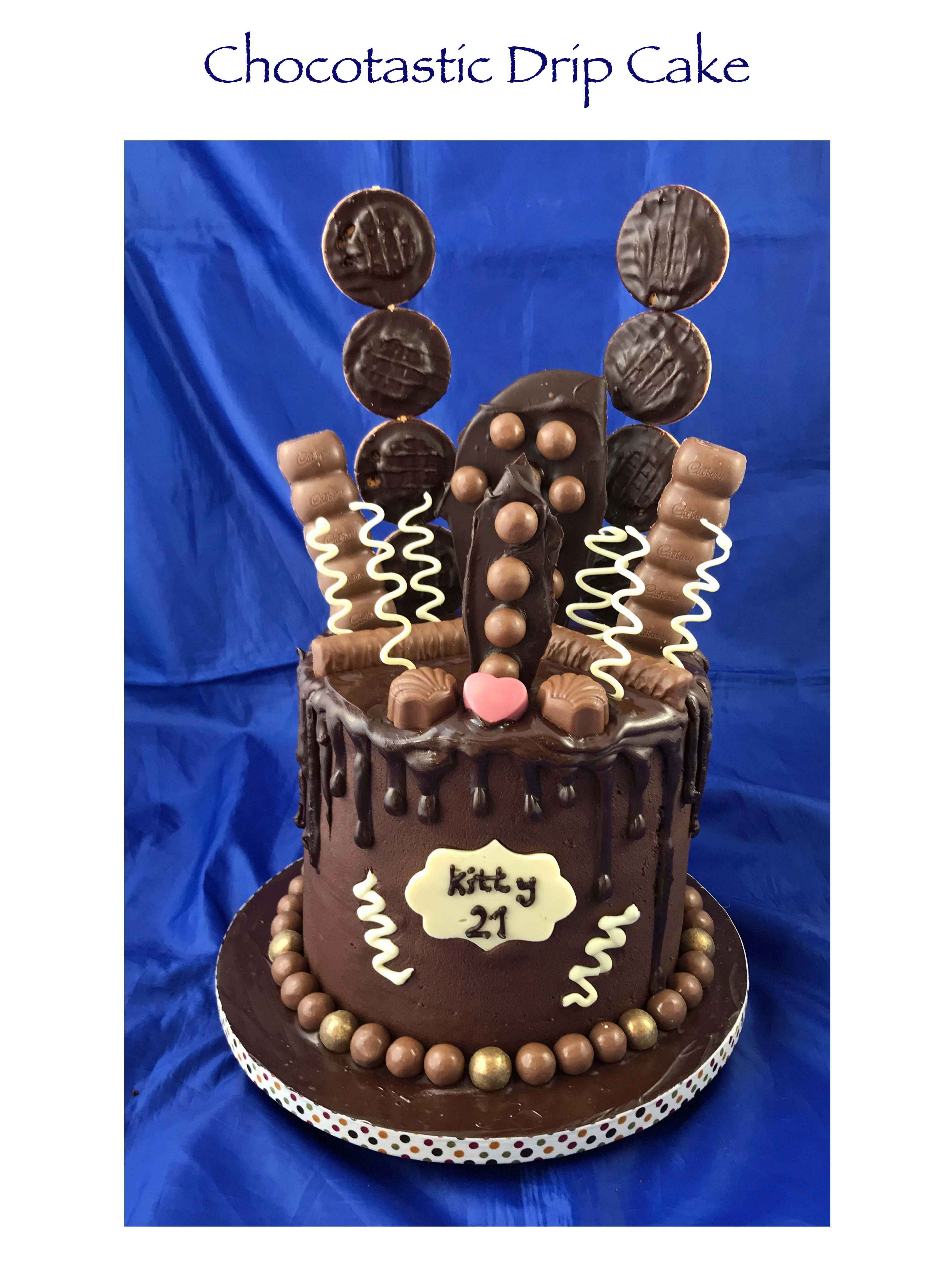 Chocotastic Drip Cake
