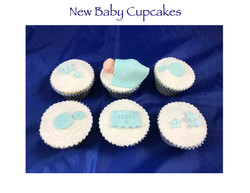 New Baby Cupcakes (Teddy)