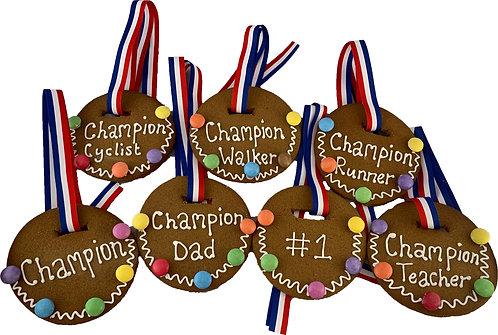 Gingerbread Medal