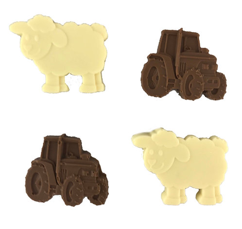 Chocolate Lambs and Tractors