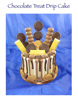 Chocolate drip cake (Rob Atkinson)