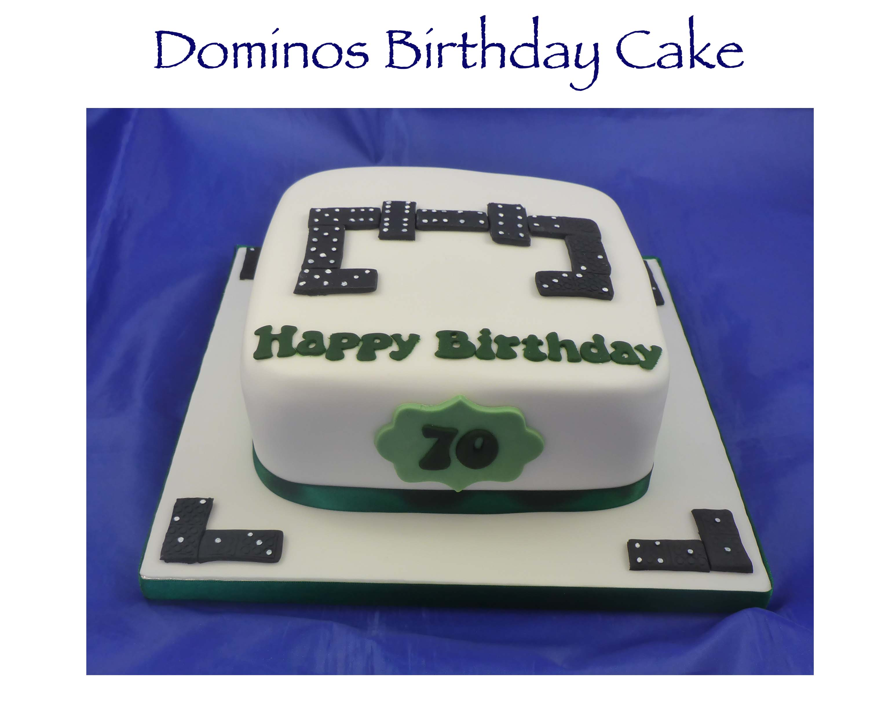 Dominos Birthday Cake
