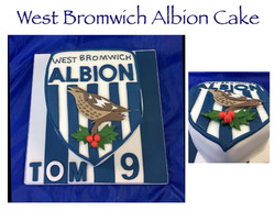 West Bromwich Albion Cake