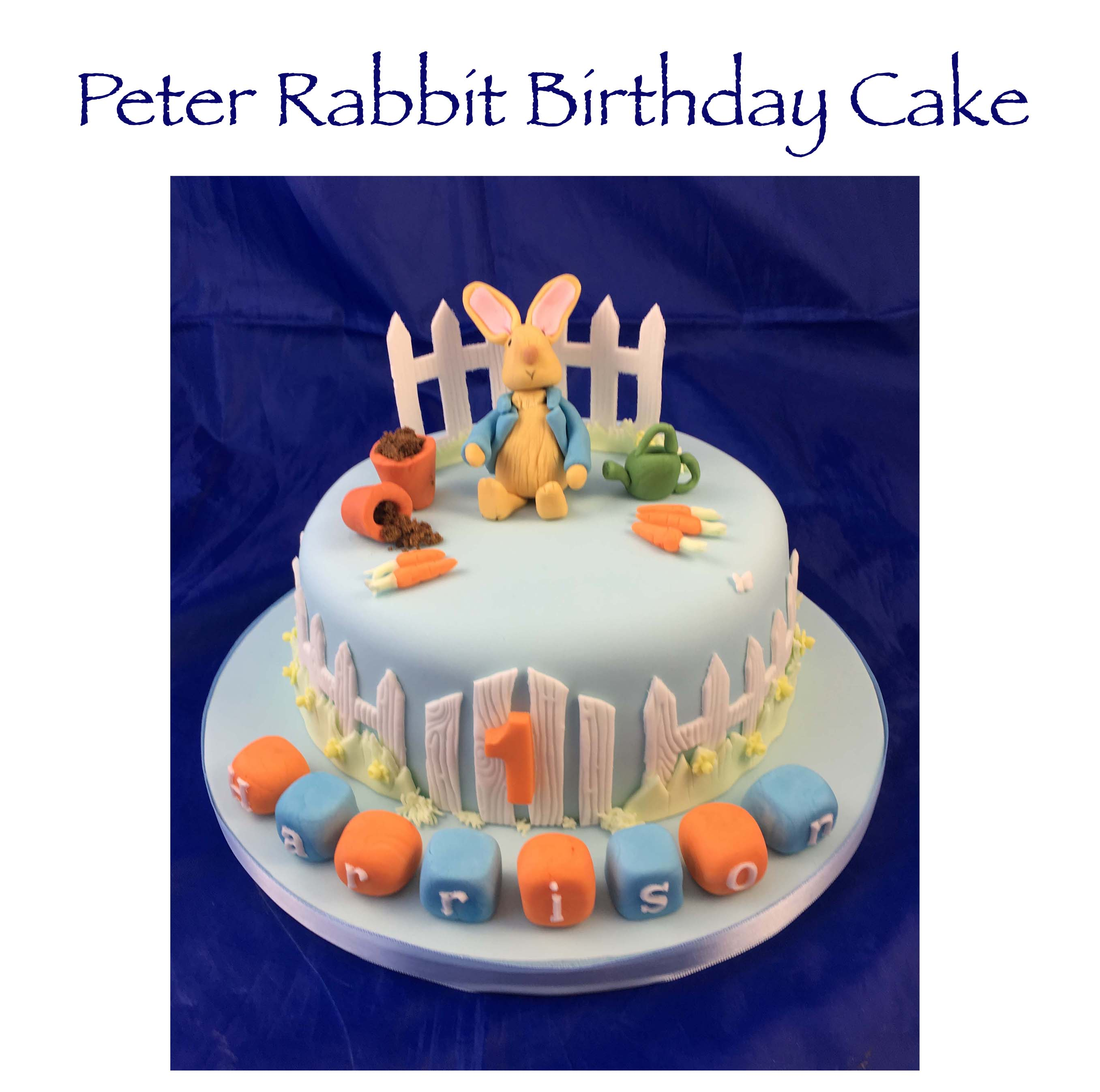 Peter Rabbit Birthday Cake 2