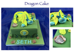 Dummy Dragon Cake
