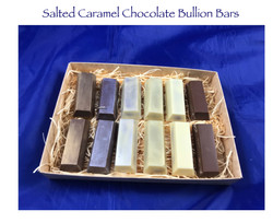 Salted Caramel Chocolate Bullion Bars