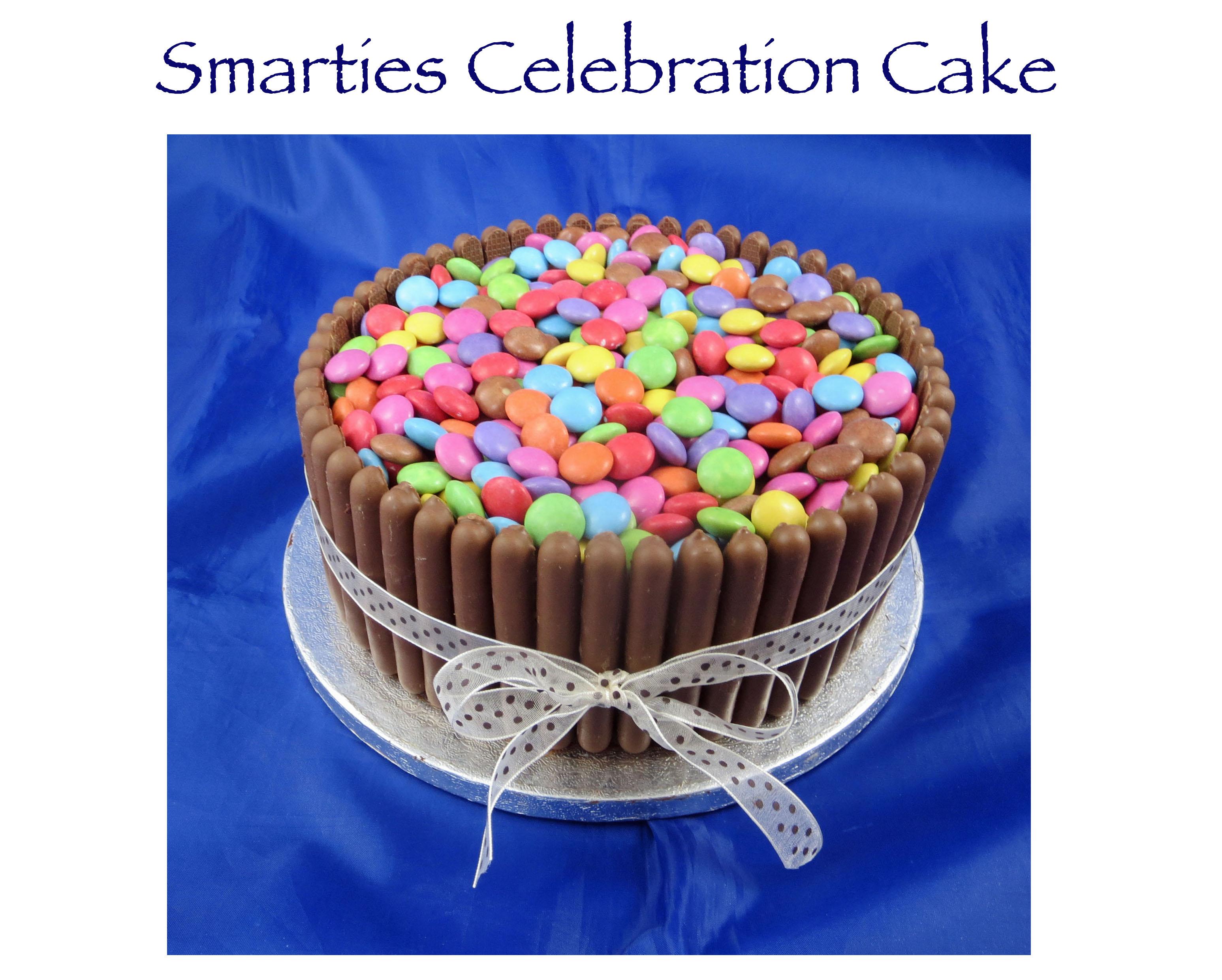 Smarties Celebration Cake