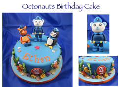 Octonauts Birthday Cake