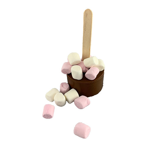 Hot Chocolate Dunker with Mini Mallows