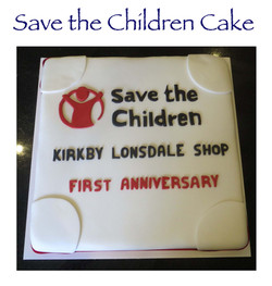 Save the Children Cake