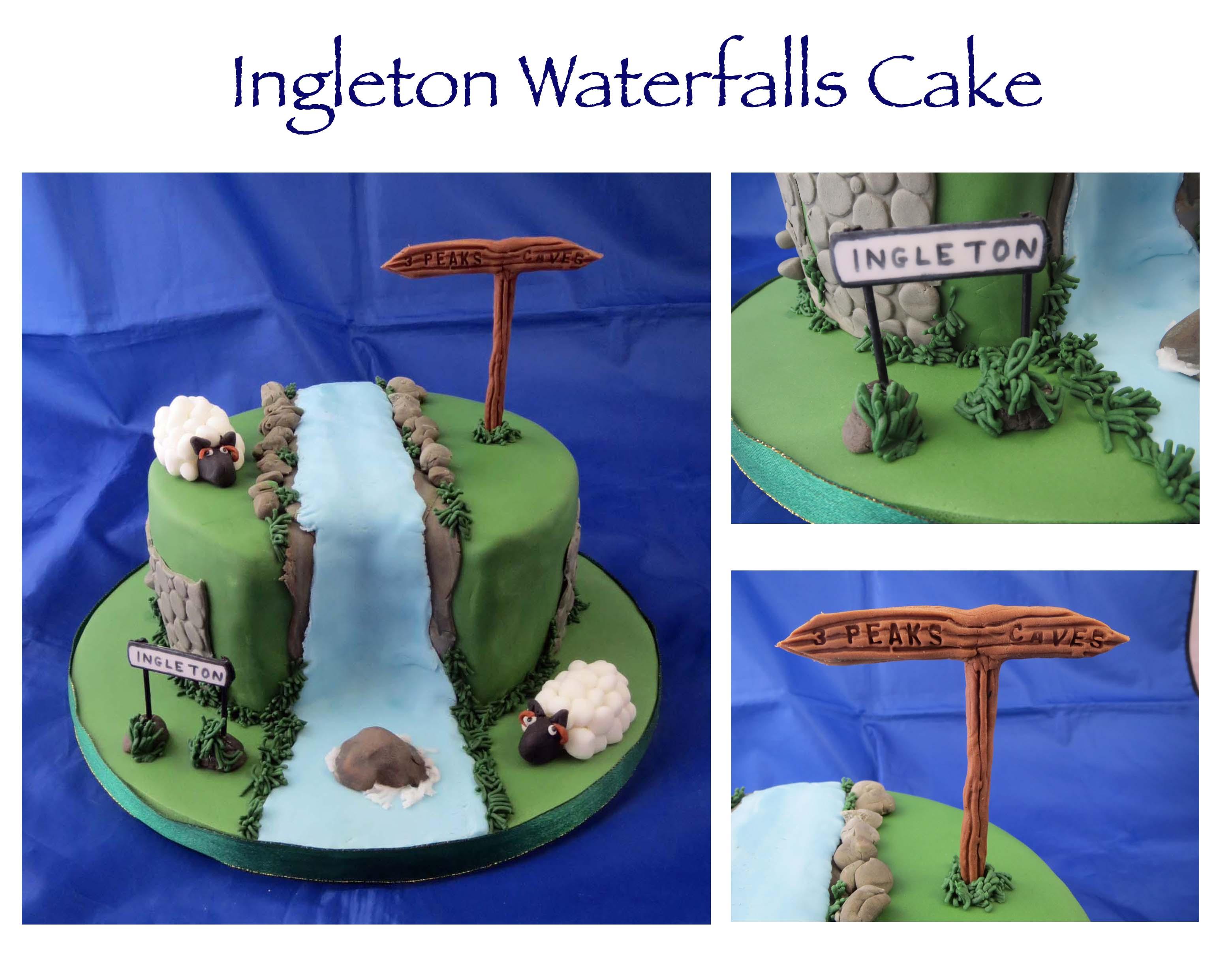 Ingleton Waterfalls Cake