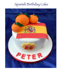 Spanish Birthday Cake