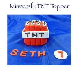 Minecraft TNT Topper