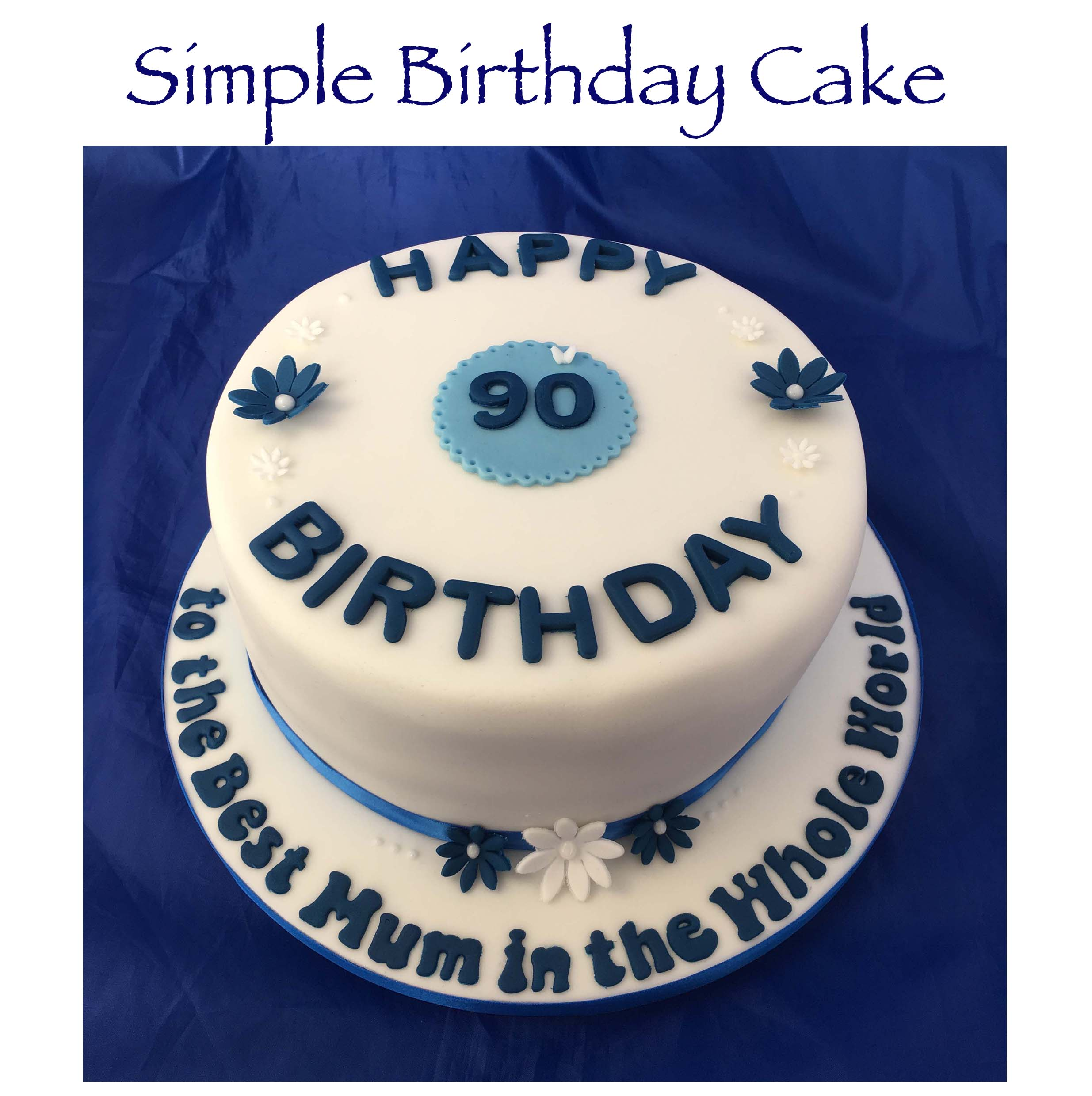 Simple Birthday Cake