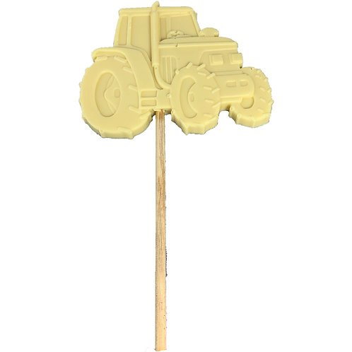 Chocolate Tractor Lolly