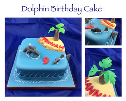 Dolphin Birthday Cake 2