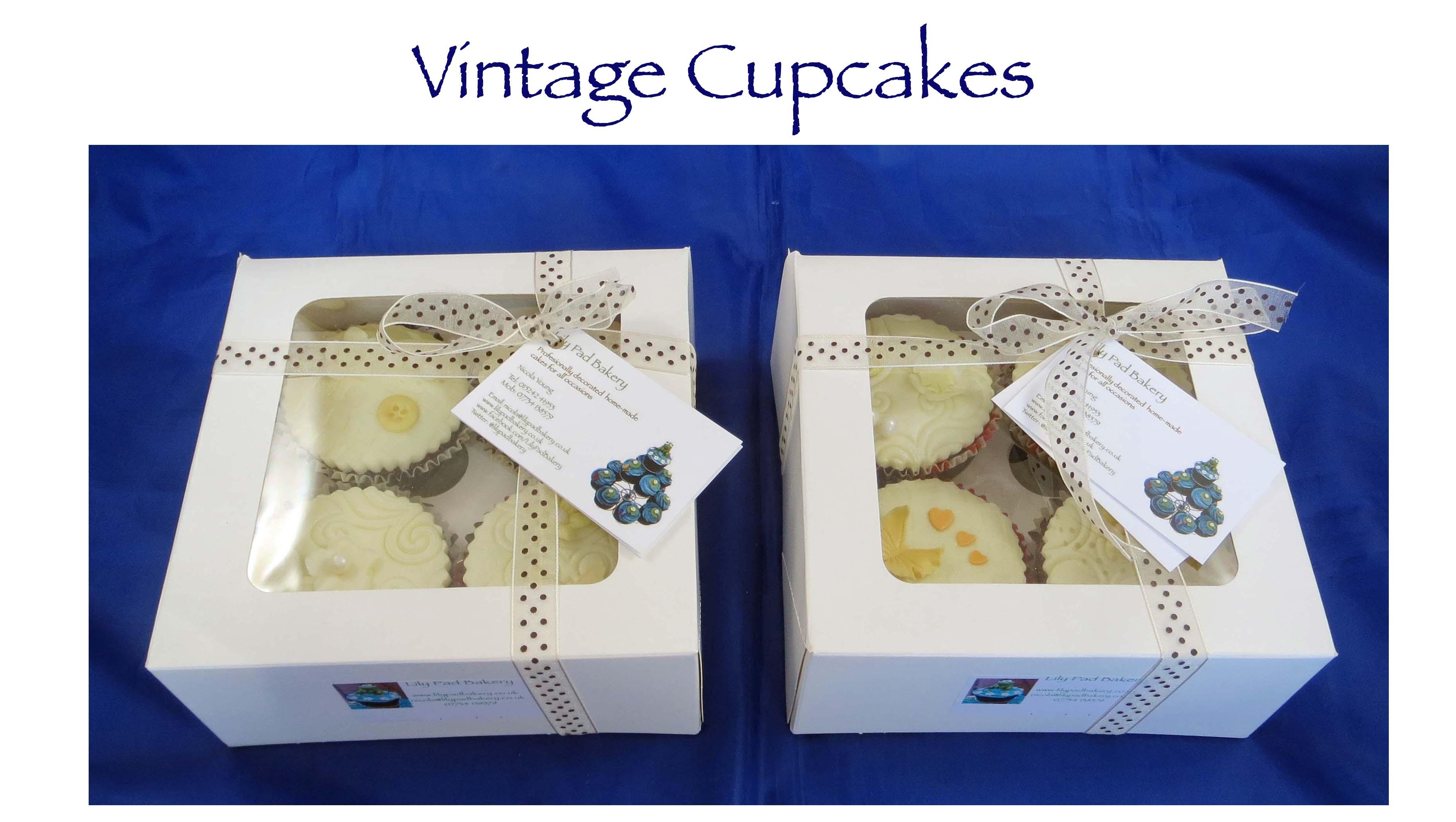 Vintage Cupcakes (Seasons)