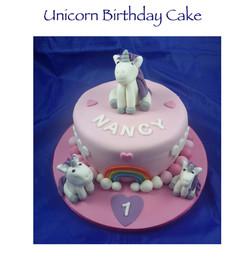 Unicorn Birthday Cake 2