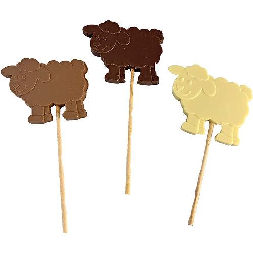 Chocolate Sheep Lolly