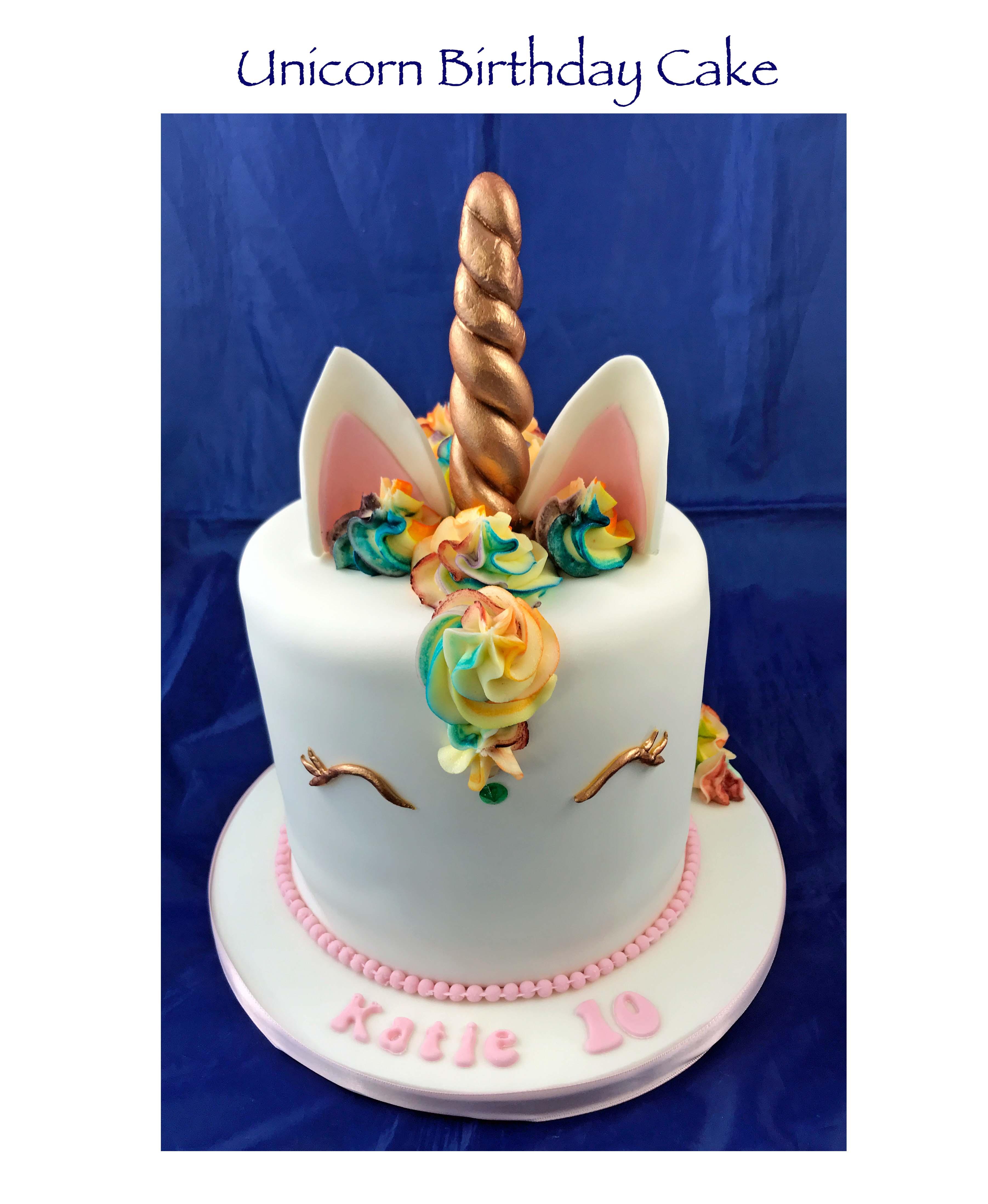 Unicorn Cake (Katie's)