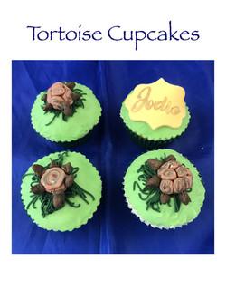 Tortoise Cupcakes