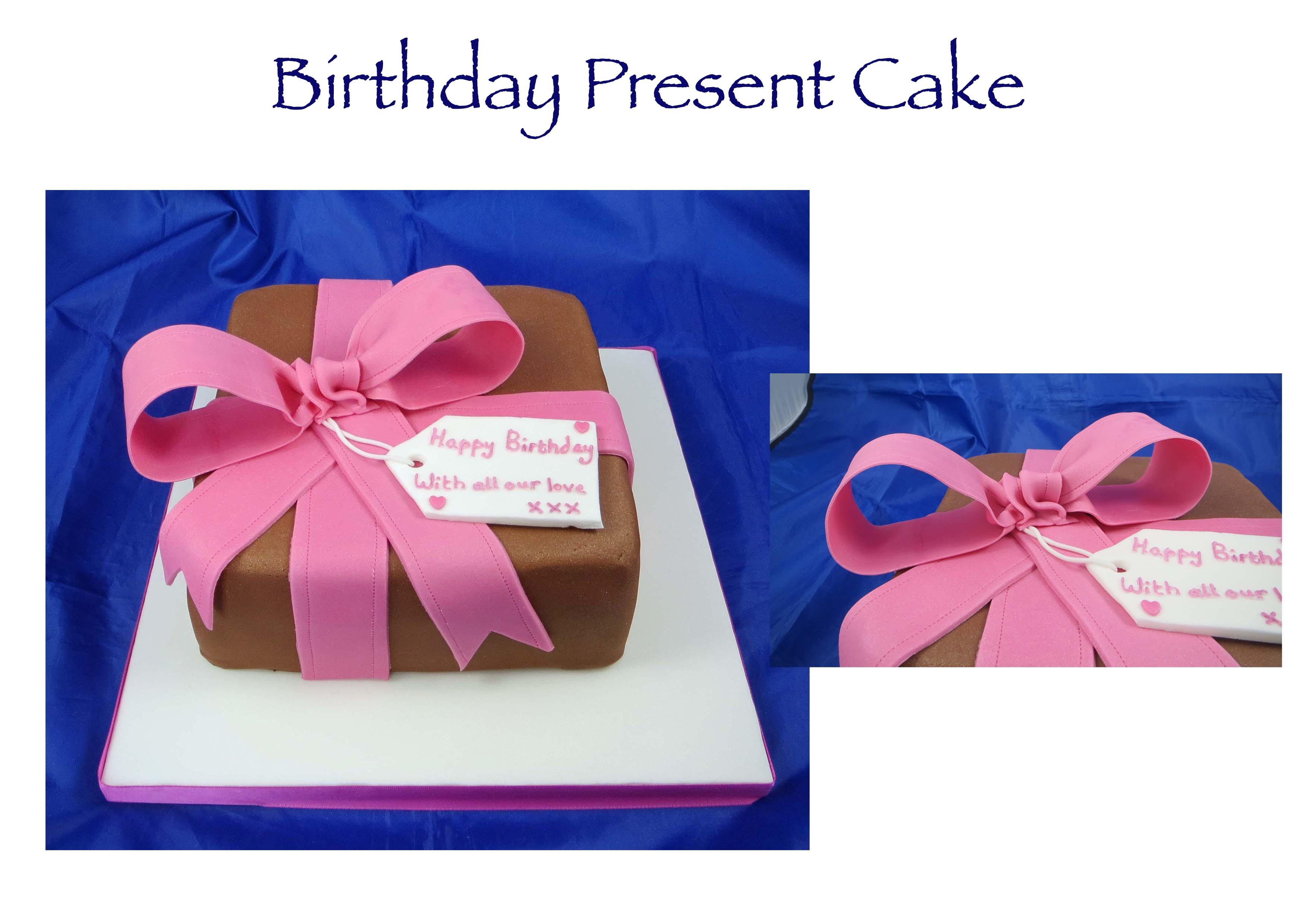 Birthday Present Cake