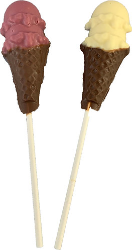 Chocolate Ice Cream Lollies