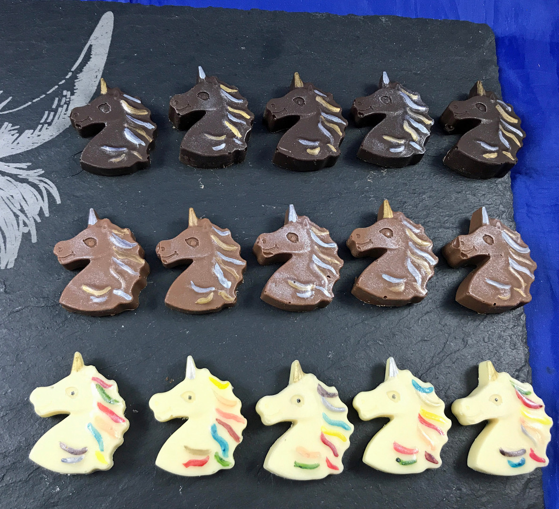 Chocolate unicorns (mixed) on slate.jpg