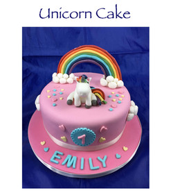 Dummy Unicorn Cake