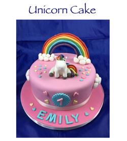 Dummy Unicorn Cake