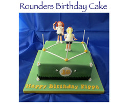 Rounders Birthday Cake