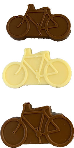 Small chocolate bicycles x 5