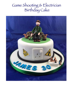 Game Shooting & Electrician's Cake
