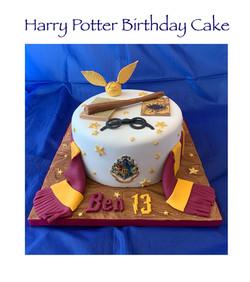 Harry Potter Cake - general