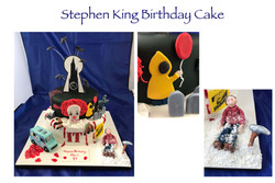 Stephen King Birthday Cake